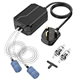 VICTSING Aquarium Air Pump, Ultra Quiet <35dB Fish Tank Air Pump Oxygen Pump