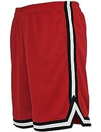 Urban Classics TB243 Herren Shorts Stripes Mesh
