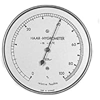 Fischer 56617 - Higrómetro de pelo real