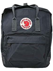 Fjallraven Unisex Backpack Kanken,  Graphite, 38 x 27 x 13 cm, 16 L