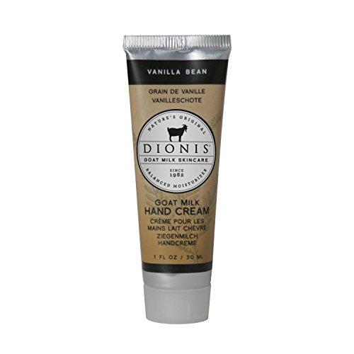 Duftende Handcreme (DIONIS Goat Milk Skincare Handcreme Vanille | 30ml Zart duftende Handlotion mit Ziegenmilch & Vitamin E | Ideale Naturkosmetik für jeden Tag)