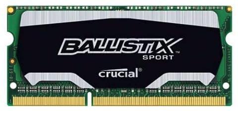Ballistix Sport 4GB Single DDR3 1866 MT/s (PC3-14900) SODIMM 204-Pin