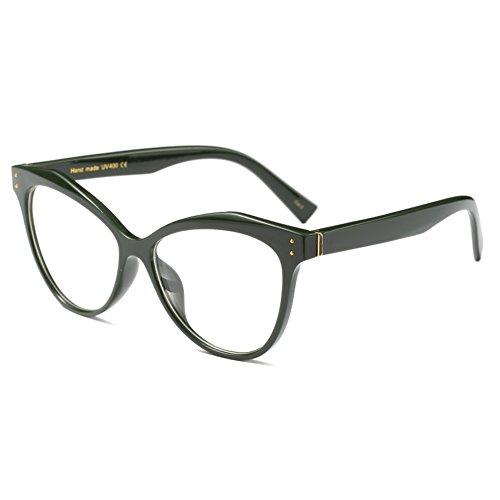 Juleya Retro Brillengestell Männer Frauen Optische Gläser Mit Klarglas C6