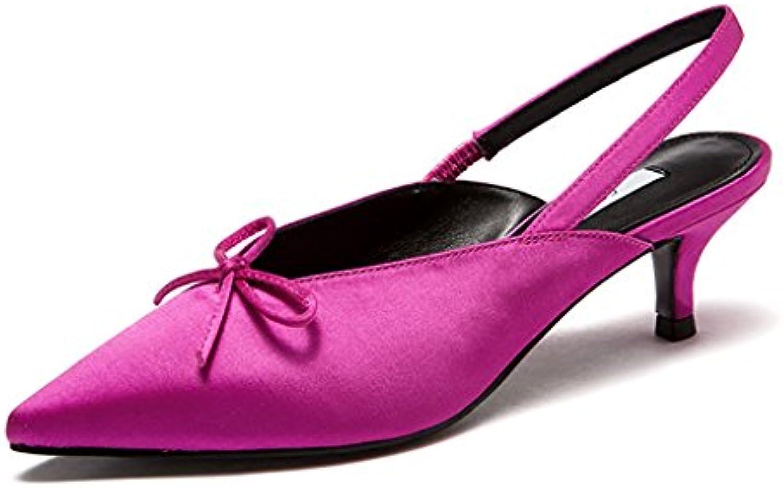 Zapatos de Mujer 2018 Nueva Piel sintética Primavera Verano Confort Sandalias Tacón de Aguja Fiesta y Noche Fiesta... -