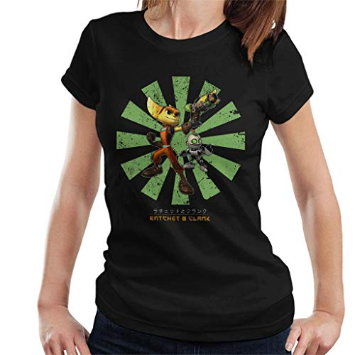 Ratchet and Clank Retro Japanese Women's T-Shirt