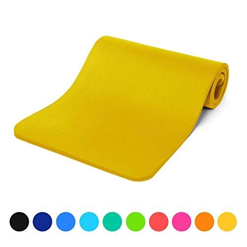 #DoYourFitness Fitnessmatte »Amisha« / Dicke und weiche Sportmatte, ideal für Pilates, Gymnastik und Yoga, Maße: 183 x 61 x 1,2cm / gelb