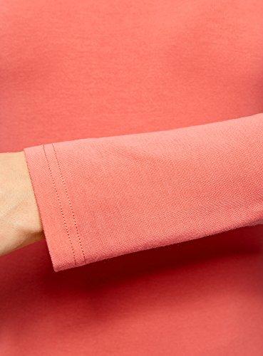 oodji Ultra Damen Langarmshirt Basic mit Rollkragen (2er-Pack) Mehrfarbig (19MIN)