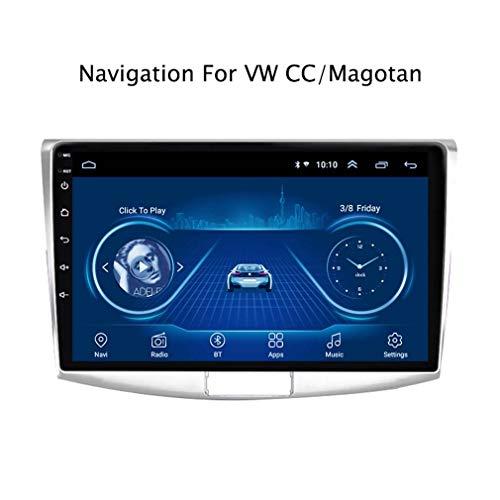 10.1 Pulgadas Android 8.1 Navegación GPS para Automóviles para Volkswagen Magotan CC Passat 7 B7 2012-2018 Sistema De Radio Multimedia | DVD | USB | Controles del Volante