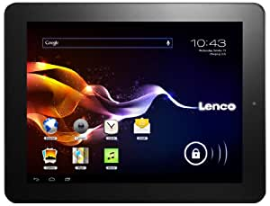 Lenco TAB-9701 24,6 cm (9,7'') Tablette Tactile (Boxchip, 1GHz, 1Go RAM, 8Go Flash-Speicher, WiFi, SD-Kartenleser, Android 4.0) Noir (Import Europe)