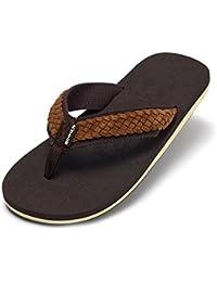 New para hombre/Hombre Marrón Cómodo Sandalias de corcho.–Marrón–UK tamaños 6–11