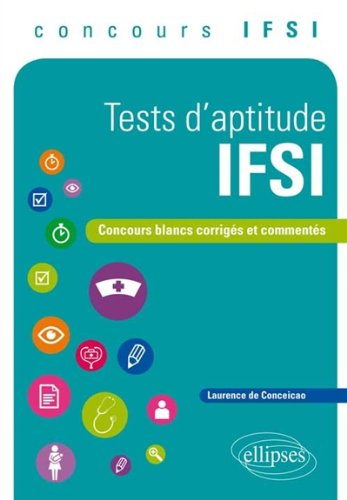 Tests d'Aptitude IFSI Concours Blanc...