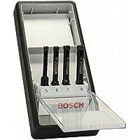 Bosch 2607019881 - Set 4 fioretti diamantati (5, 6, 7, 8 mm) - Utensili elettrici da giardino - Confronta prezzi