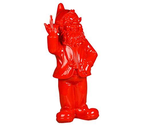 Gnome Garden (Stoobz PP 005ro 15x 12x 32cm Cheeky Garden Gnome Figur für Haus und Garten–rot)