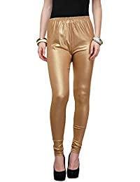 Golden leggings for women's by Fashion Monster (With ALL SIZE's M,L,XL,2XL,3XL)