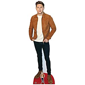 Star Cutouts Ltd Niall Horan Jacke, Wildleder, Karton, Mehrfarbig, 3 x 61 x 184 cm