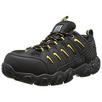Skechers for Work Men's Blais Hiking Shoe, Black, 9 M US