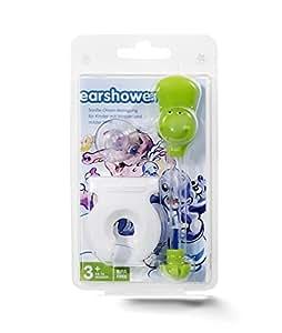 Earshower Kids Ohrenreiniger zur Ohrenschmalz Entfernung (grün)