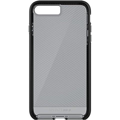 """Tech21 """"Evo Check"""" Coque de Protection pour iPhone 7 Plus avec Technologie Flexshock - Gris/Noir"""