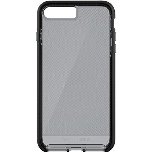 Tech21 Evo Check Hülle mit FlexShock Aufprallschutz für Apple iPhone 7 Plus - Rauchig/Schwarz