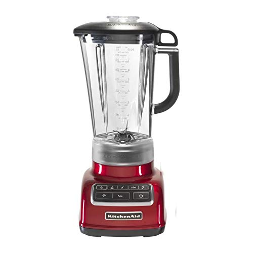 KitchenAid 5KSB1585ECA - Licuadora 1.75 L, 2000 RPM, 11500 RPM, Tabletop blender, Red, Plastic