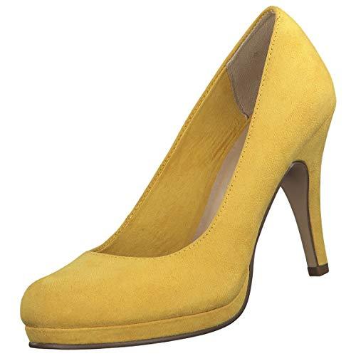 Tamaris 1-1-22407-22, Zapatos de Tacón para Mujer, Amarillo (Sun 602), 39 EU