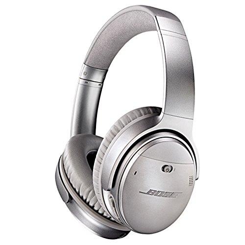 Bose-QuietComfort-35-kabellose-Kopfhrer-silber