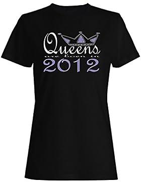 Nuevas reinas de diseño artístico nacen en 2012 camiseta de las mujeres b648f
