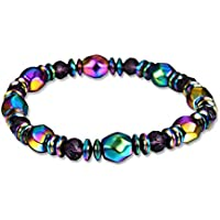 Gemini_Mall® Magnet-Armband mit Perlen für Gewichtsverlust, Hämatit, für Damen, mehrfarbig preisvergleich bei billige-tabletten.eu