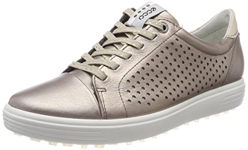 ECCO Womens Casual Hybrid Perf, Scarpe da Golf Donna, Oro (Warm Grey 01375), 40 EU