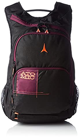 Atomic, AL5025710, Sac à Dos de Ski/École (23L), 30x15x44 cm, Noir/Mauve, AMT LEISURE + SCHOOL BACKPACK