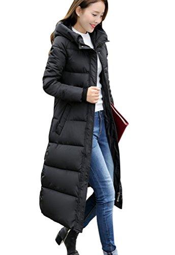 Ghope Damen Blouson Mantel Gr. X-Large, schwarz