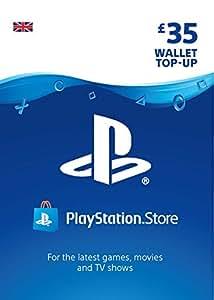 PlayStation PSN Card 35 GBP Wallet Top Up   PSN Download Code - UK account