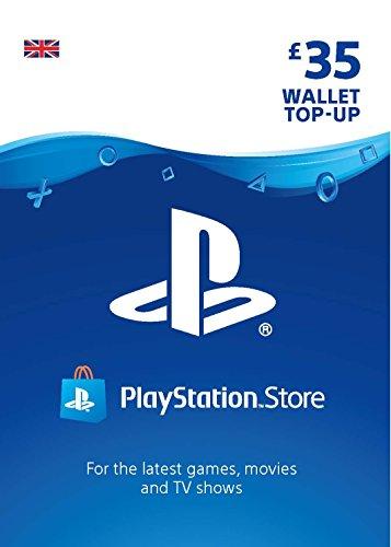 PlayStation PSN Card 35 GBP Wallet Top Up | PSN Download Code - UK account