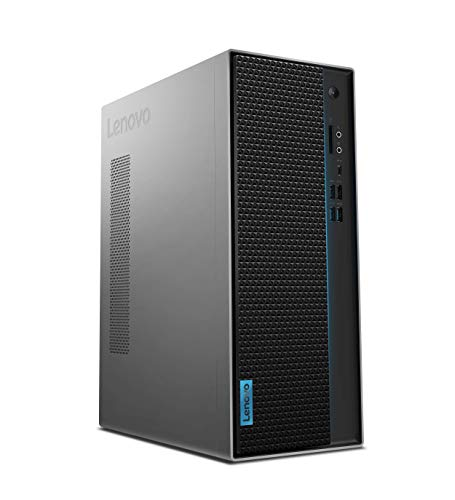Lenovo IdeaCentre T540 Gaming Desktop-PC (Intel Core i5-9400F, 16GB RAM, 1 TB HDD + 256 GB SSD, Nvidia GeForce GTX 1660, Windows 10 Home) grau