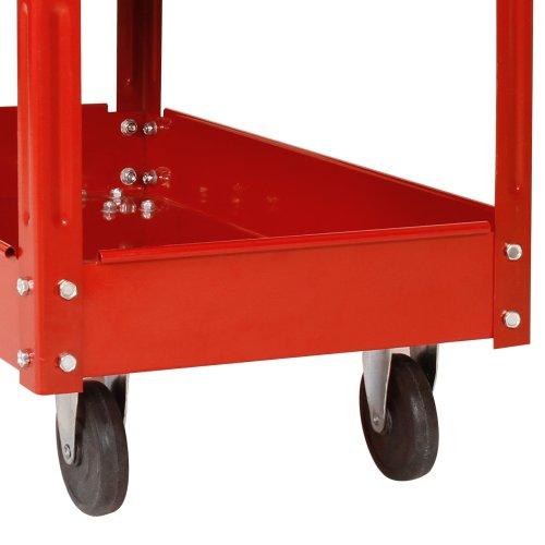 2er Set Werkzeugwagen Rollwagen aus Metall mit 3 Etagen Transportwagen - 6