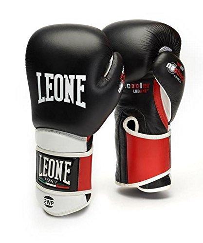 LEONE 1947der Technischen, Boxhandschuhe Boxhandschuhe Unisex Erwachsene, Unisex - Erwachsene, Il Tecnico, schwarz, 14OZ -