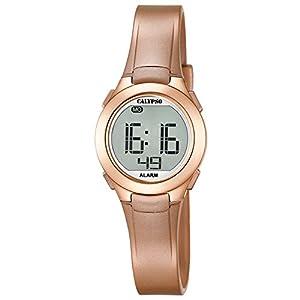 Calypso–Reloj Digital Unisex con Pantalla LCD y Correa de plástico