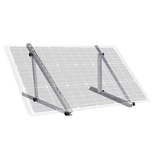 """ECO-WORTHY 28\""""verstellbare Solarpanel-Neigungshalterungen für Boote, Wohnmobile, Dach-Off-Grid-System (28-Zoll-Länge)"""