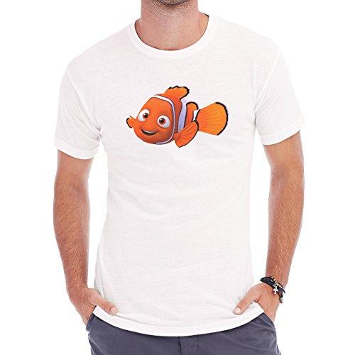 Finding Nemo Marvin Say Hi Herren T-Shirt Weiß