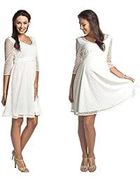 Torelle Damen Hochzeitskleid Umstandskleid Brautkleid Nicht nur für Schwangere, Modell: Marina