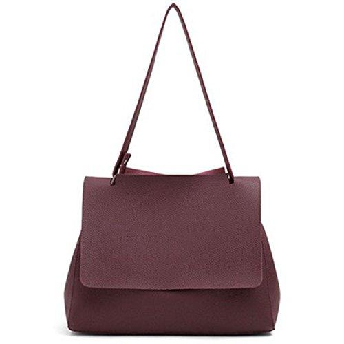 Multifunktionale Universal Fashion Durable Pu Portable Handtasche Aktenkoffer Schultertaschen Mit Abnehmbarem Schultergurt N