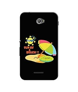 Sketchfab Sun of Beach Latest Design High Quality Printed Designer Back Case Cover For Sony Xperia E4