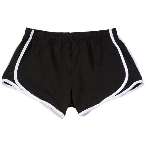 Boxercraft - Short de sport respirant - Femme Rouge/Blanc