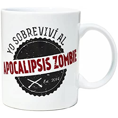 dia del orgullo friki Taza Apocalipsis Zombie Superviviente