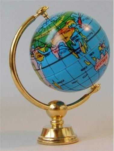 Miniatur Puppenhaus 1:12, nostalgische Accessoires, Globus