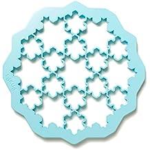 Lékué 0200170Z11M017 Cutter pour Biscuits Puzzle Neige Plastique  Multicolore 45 x 35 x 25 cm