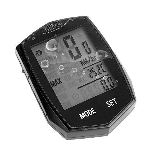 KOLIER Fahrradcomputer, wasserfest drahtloser Geschwindigkeitsmesser, automatisches aufwachen Fahrradcomputer für das Verfolgen von Fahrgeschwindigkeit und Distanz