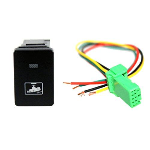 IPOTCH Auto KFZ Schalter für Nebelscheinwerfer Scheinwerfer Wippschalter Ein-/Ausschalter - Fahren Recorder Symbol - Camry 2003 Scheinwerfer Toyota