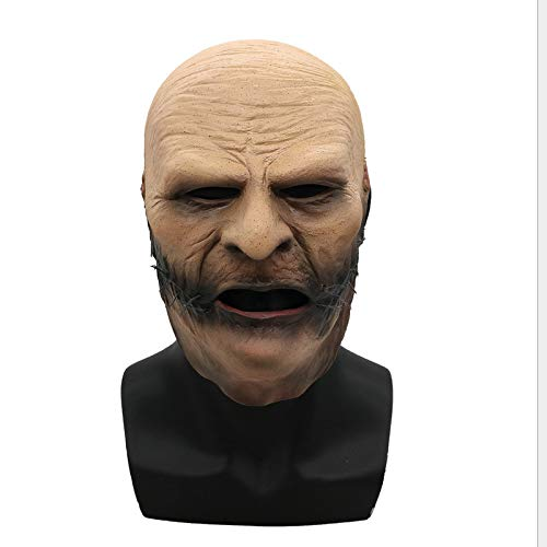 baoqsure Slipknot Mask Corey Taylor Cosplay Latex Mask Tv Slipknot Stitched Mouth Mask Halloween Cosplay - Corey Taylor Slipknot Kostüm