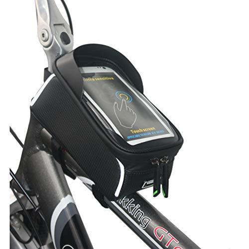WANDERVOGEL Rahmentasche Fahrrad Oberrohrtasche Wasserdicht Handytasche für Smartphone bis 6,0 Zoll